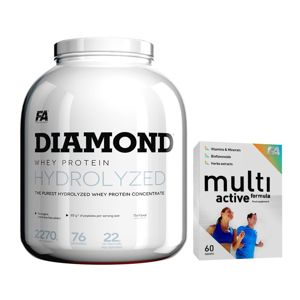Diamond Hydrolysed Whey Protein - Fitness Authority 2270 g Vanilla