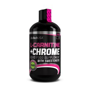 L-Carnitine 35000 mg+Chrome 5mg - Biotech USA 500 ml Hruška+Jablko