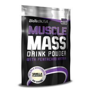 Muscle Mass od Biotech USA 1000 g sáčok Čokoláda