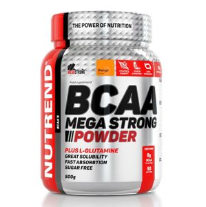 BCAA Mega Strong Powder - Nutrend 20 x 10 g Pineapple