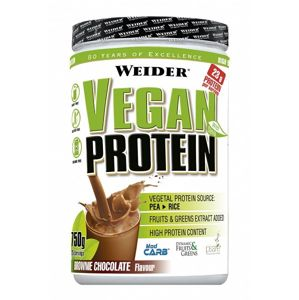 Vegan Protein od Weider 750 g Brownie Chocolate