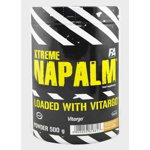 Xtreme Napalm loaded with Vitargo - Fitness Authority 500 g Pomaranč