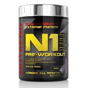 N1 Pre-Workout - Nutrend 300 g Blackcurrant