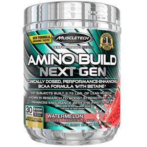 Amino Build Next Gen - Muscletech 276 g (30 dávok) Fruit Punch