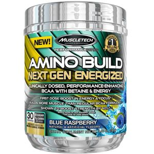 Amino Build Next Gen Energized - Muscletech 280 g (30 dávok) Fruit Punch Splash
