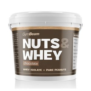 Nuts & Whey - GymBeam 1000 g Chocolate