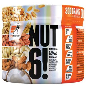 Nut 6! - Extrifit  300 g Natural