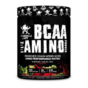 BCAA Amino Powder - Warrior Labs 400 g Sweet Cherry