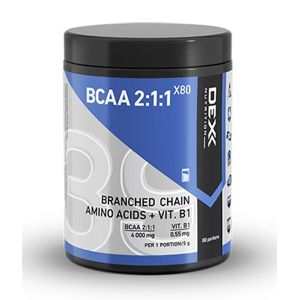 BCAA 2:1:1 X80 Powder - Dex Nutrition  400 g Wildberry