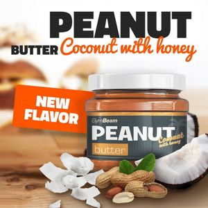 Peanut Butter - GymBeam 340 g Coconut+Honey