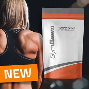 Hemp (Konopný) Protein - GymBeam 1000 g Chocolate
