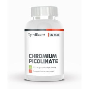 Chromium Picolinate - GymBeam  120 tbl.