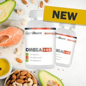 Omega 3-6-9 - GymBeam 60 softgels