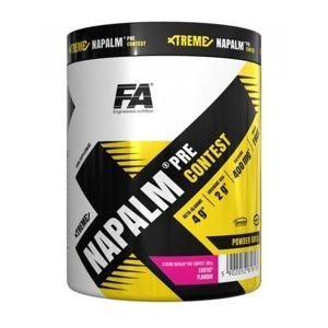 Xtreme Napalm Pre-Contest od Fitness Authority 500 g Lemon Lime