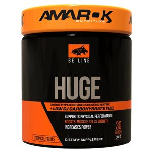Be Line Huge - Amarok Nutrition 300 g Tropical