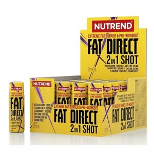 Fat Direct Shot (spaľovač plus pumpa) - Nutrend 20 x 60 ml.