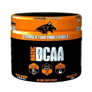Basic Line BCAA - Amarok Nutrition 300 g Orange & Peach