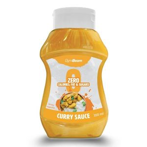 ZERO Curry Sauce - GymBeam 350 ml.