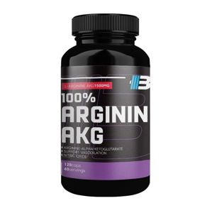 100% Arginin AKG - Body Nutrition 120 kaps.