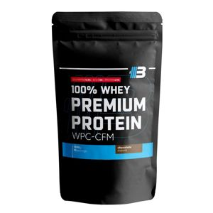 100% Whey Premium WPC-CFM - Body Nutrition 1000 g Chocolate-Raspberry