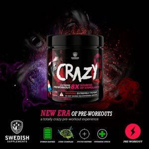 Crazy 8 - Swedish Supplements 260 g Mango Peach