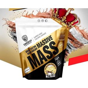 Massive Mass - Swedish Supplements 3500 g Wild Strawberry