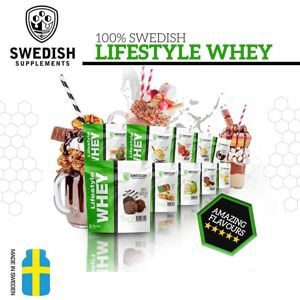 Lifestyle Whey - Swedish Supplements 1000 g Lemon Yoghurt