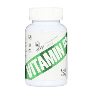 Vitamin D3 - Swedish Supplements 90 kaps.