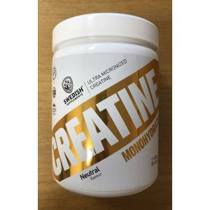 Creatine Monohydrate - Swedish Supplements 500 g Neutral