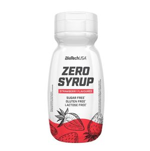 Zero Syrup - Biotech USA 320 ml. Strawberry