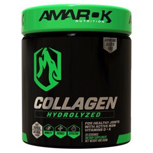Black Line Collagen Hydrolyzed - Amarok Nutrition 400 g Tropical