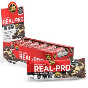 Tyčinka: Real-Pro 50% - All Stars 50 g Chocolate Banana