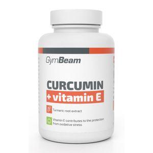 Curcumin + Vitamin E - GymBeam 90 tbl.