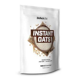 Instant Oats - Biotech USA 1000 g Natural