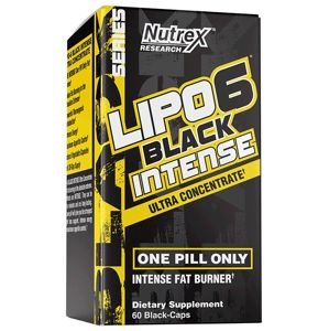Lipo 6 Black Intense Ultra Concentrate - Nutrex 60 kaps.