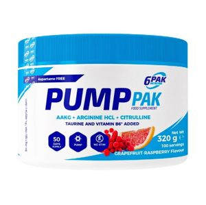 Pump PAK - 6PAK Nutrition 320 g Grapefruit Raspberry