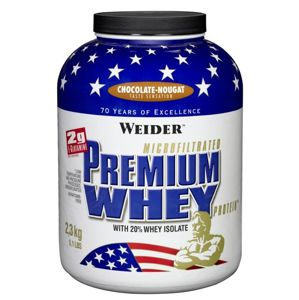 Premium Whey - Weider 2300 g Strawberry-Vanilla
