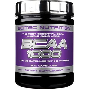 BCAA 1000 - Scitec Nutrition 300 tbl.