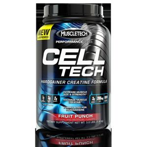 Cell-Tech Performance Series - Muscletech 2,7 kg Grape (Hrozno)
