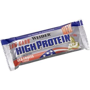 Tyčinka Low Carb High Protein Bar - Weider 50 g Strawberry