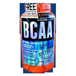 BCAA 2000 mg Optimal Ratio 2:1:1 - Extrifit 240 kaps.