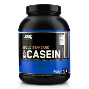 Gold Standard 100% Casein - Optimum Nutrition 1800 g Vanilka