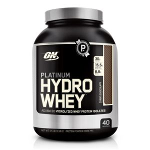 Platinum Hydrowhey - Optimum Nutrition 1590 g Jahoda