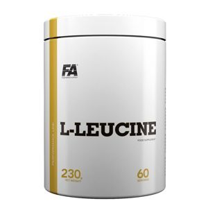 L-Leucine - Fitness Authority 230 g Grapefruit+Mint