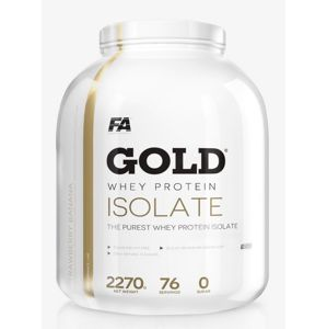 Gold Whey Isolate - Fitness Authority 2270 g Vanilka
